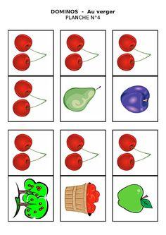 Planche 4 - Dominos du verger