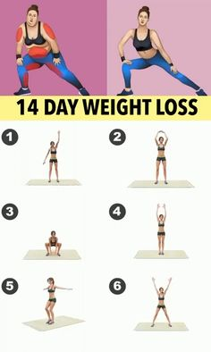 14 Day Weight Loss