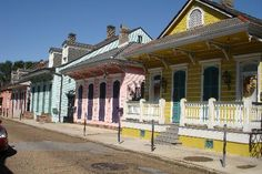 How could you ever be sad if one of these was your house? #NOLA