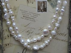 creamy dreamy romantic pearls