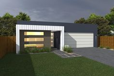 Costa Home Designs  Sunshine Coast Home Builders  ABODE172 Signature Facade