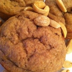 Peanut Butter Banana Muffins recipe