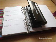 Tuto excel manu scrap pour créer ses pages d'agenda