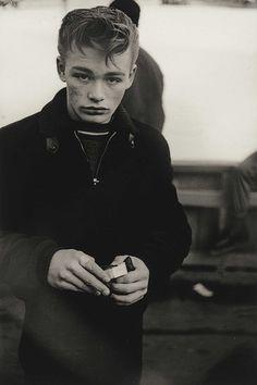 Teenage Boy, N.Y.C., 1961. Diana Arbus