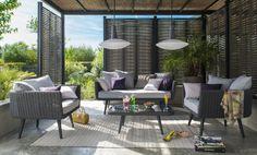 mobilier de jardin sur pinterest m taux bistrots et manhattan. Black Bedroom Furniture Sets. Home Design Ideas