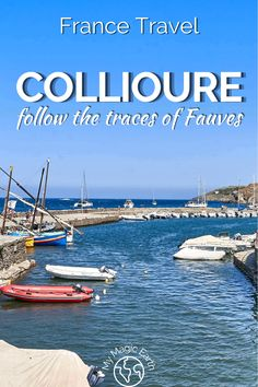 Collioure walking tour, also the Fauvism Trail, passes along beaches, narrow alleys with cliff views, and the prettiest flower-filled streets. At each place, there is a reproduction of one Fauvism artwork. | Things to do in Collioure |Southwest France travel tips | France Travel Guide | Beaches |Fauvism Trail | Walking Trail #法国 #France #walkingtrail #hiking #familytravel #instagrammableplace #Collioure #fauvism Road Trip Europe, Europe Travel Guide, Europe Destinations, France Travel, Travel Guides, France Photography, Southern Europe, Visit France, Worldwide Travel