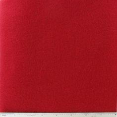 Bright Red Solid Polar Fleece Fabric