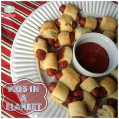 New ideas party snacks for adults finger foods pigs in a blanket New Years Eve Snacks, New Years Eve Menu, New Year's Snacks, New Years Eve Party Ideas Food, Kids New Years Eve, New Year's Eve Appetizers, Snacks Für Party, Appetizer Recipes, Party Appetizers