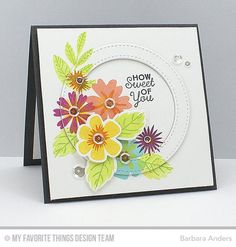 How Sweet of You - MFT April Release Countdown, Day One by Bar - Cards and Paper Crafts at Splitcoaststampers