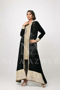 New Winter Collection for Girls by Nida Azwer 2014
