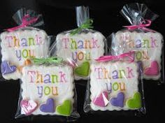Image result for thank you cookies individually wrapped