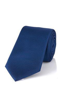 Krawatte aus Seide: 'Tie 6 cm' Krawatte aus Seide: 'Tie 6 cm', Blau