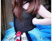Scarecrow Tutu Dress---free headband and clip. $30.00, via Etsy.