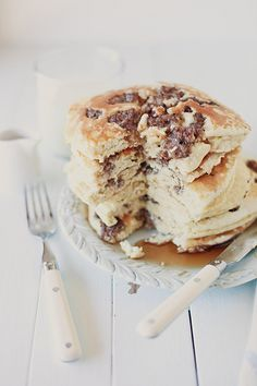 pancakes! by hannah * honey & jam, via Flickr