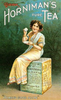 Horniman's Pure Tea..funny...