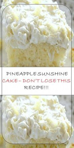 Latest News: Entertainment Law Firms Isis 2019 11 pineapple sunshine cake dont lose this Cake Mix Recipes, Baking Recipes, Dessert Cake Recipes, Pineapple Desserts, Crushed Pineapple Cake, Pineapple Cake Mix Recipe, Pinapple Cake, Pineapple Ideas, Hawaiian Desserts