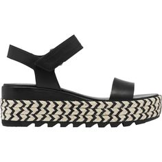 Sorel Cameron Flatform Sandal - Women's   Backcountry.com Family Outing, Velcro Straps, Wedge Heels, Latest Fashion Trends, Personal Style, Footwear, Slip On, Sandals, Leather
