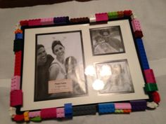 Lego's anyone 8X10 frame by crafteyideas on Etsy