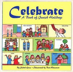 Celebrate: A Book of Jewish Holidays  ______________________________