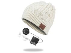 The Archos Music Beany is a woollen hat that plays music, and is joined by a smart Weather Station and musical lamp.