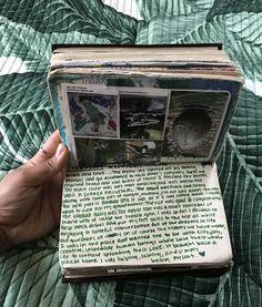 Bullet Journal Art, Bullet Journal Inspiration, Art Journal Pages, Art Journals, Art Journal Challenge, Sketch Journal, Journal Aesthetic, Book Aesthetic, Arte Gcse