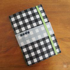 CADERNO XODÓ XADREZ PB | Sketchbook personalizado, exclusivo e 100% artesanal! Feito com muito amor! Acesse a loja virtual ---> www.xodopapelaria.com.br