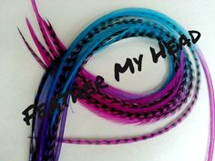 10 Ombre Tie Dye Fade Feather Extension Whiting Rooster Feathers X- Long 9-12 inches Multi Colored California Dreaming