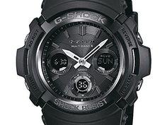 Casio G-Shock - Herren-Armbanduhr mit Analog/Digital-Display und Resin-Armband - AWG-M100B-1AER