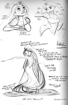 Glen Keane, wow, so cool to see the process behind making Rapunzel!