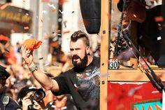San Francisco Giants Victory Parade~ Brian Wilson!