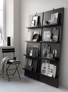Magazine shelflove - DIY project