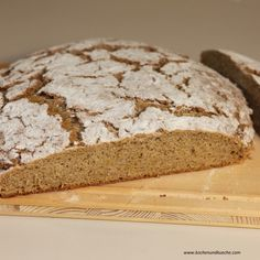 Apfelbrot Bread, Food, Chef Recipes, Food Food, Breads, Baking, Meals, Yemek, Sandwich Loaf