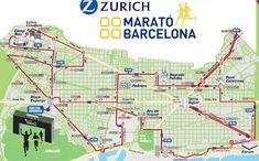 2018 March 11th  Barcelona Marathon.