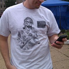When Zombies Learn To Text Tee now featured on Fab.