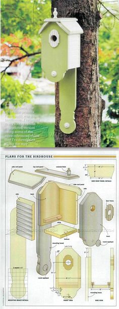 Making Birdhouses - Outdoor Plans and Projects | WoodArchivist.com