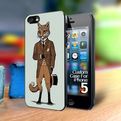 Mr Dapper fox Iphone 5 case | TheYudiCase - Accessories on ArtFire