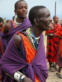 Masai Man of Tanzania, Africa