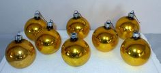 Vintage Sunny Bright glass Christmas ornaments by ButNotForgotten