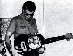 """Boyd Rice with his """"roto-guitar"""""""