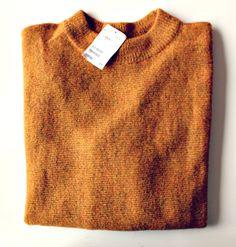 Ocher yellow (mustard) jumper