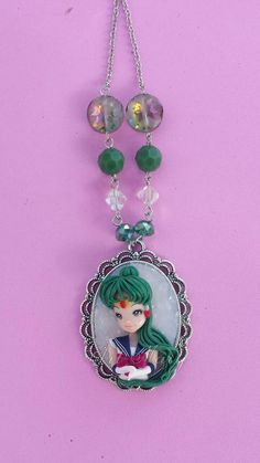 Sailor moon pluto fimo polymer clay by Artmary2 on Etsy