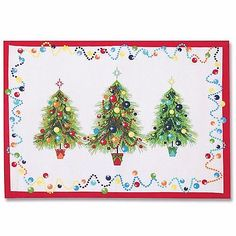 Fiesta® Holiday Gatherings Christmas Trees Placemats | Criffer Auctions & Sales