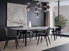 テーブル MAD DINING TABLE Mad コレクション by Poliform デザイン: Marcel Wanders