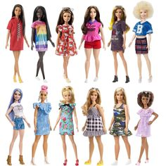 Everybody, this is not a drill! I repeat! This is not a drill! Here is the upcoming new wave of 2018 Fashionistas Barbie dolls. Diy Barbie Clothes, Barbie Skipper, Mattel Barbie, Barbie Dress, Barbie And Ken, Barbie Style, Johnny Lozada, Barbie Fashionista Dolls, Barbies Pics