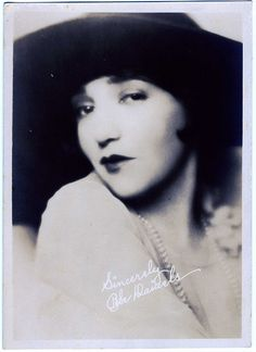 The Quiet Loveliness Of Bebe Daniels, Hollywood Actress by mrwaterslide, via Flickr
