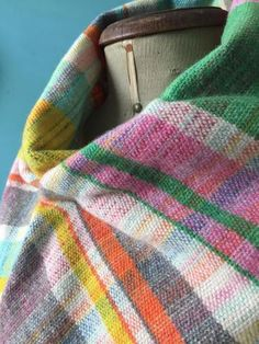 Made By Hand Online - Hand woven 100% lambswool scarf by Teresa Dunne at madebyhandonline