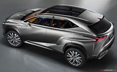 lexus small suv 2014 | New LF-NX Concept Hints at Potential Compact Lexus SUV