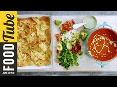 Jamie's Mexican Tomato Soup - YouTube
