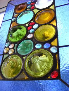 Contemporary Stained Glass Window Hanging by suzana Broken Glass Art, Shattered Glass, Sea Glass Art, Mosaic Glass, Fused Glass, Stained Glass Panels, Stained Glass Patterns, Leaded Glass, Stained Glass Art