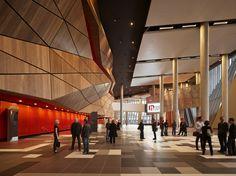 Melbourne Convention Center interior portrait